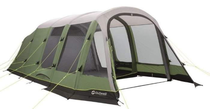Outwell Woodburg 6A Air Tent.