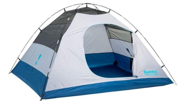 Eureka Tetragon NX 5 Tent shown without the fly.