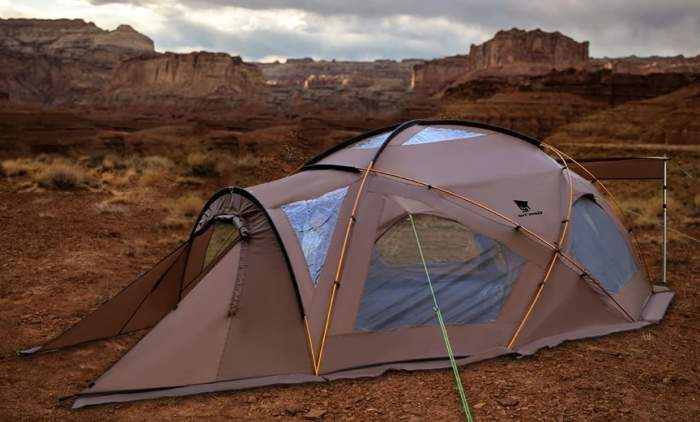 Geertop Large Family Camping Tent 6 Person.