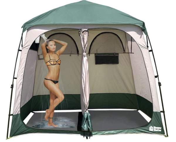 EasyGo Product Shower Shelter.
