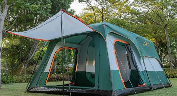 KTT Extra Large Tent 12 Person.