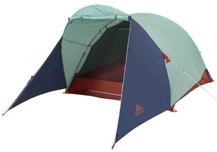Kelty Rumpus 6 Person Tent - huge front vestibule.