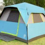 EVER ADVANCED Instant Cabin Tent 6 Person.