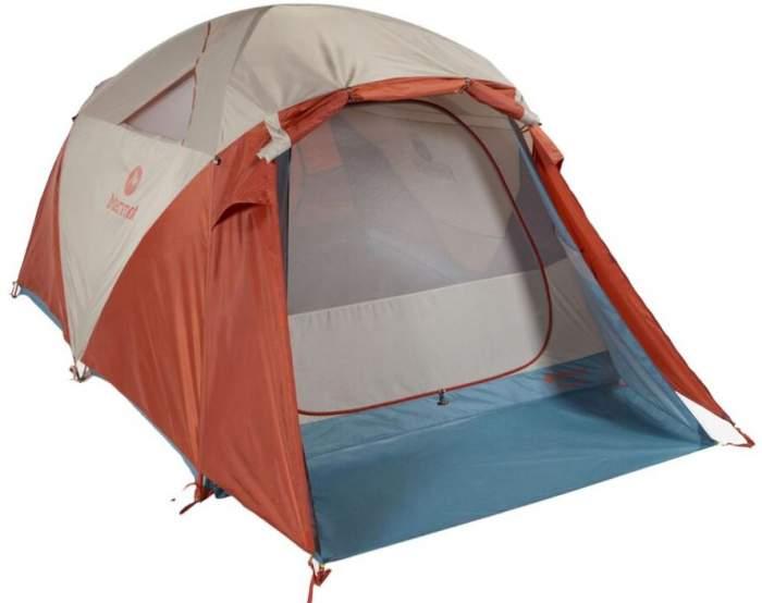 Marmot Torreya 6 Person Camping Tent.