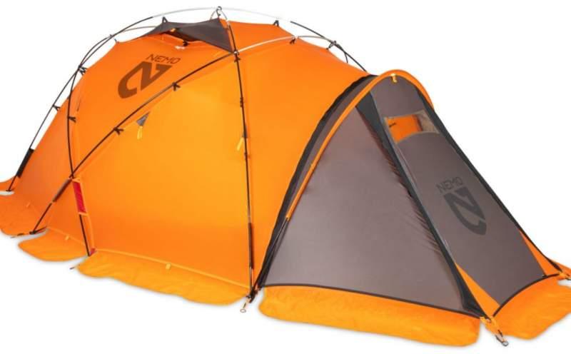 Nemo Chogori 4 Person tent - no fire retardants.