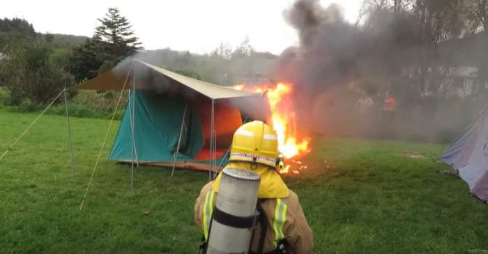 What Is a Fire Retardant Tent