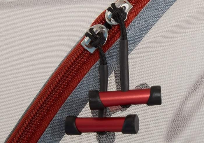 Beautiful zipper pulls.