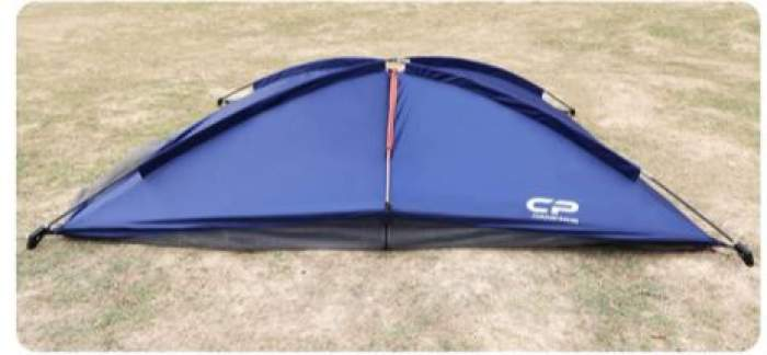 Start with roof poles when you set this shelter up.