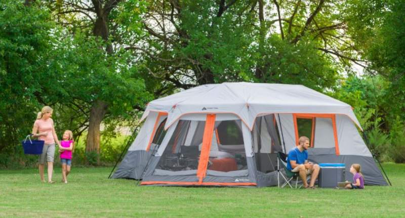 12 Person Instant Camping Tents.