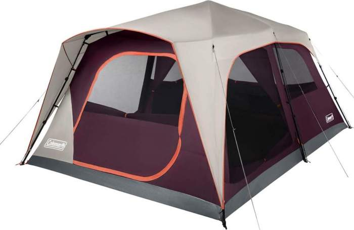 Coleman Camping Tent Skylodge Instant 12 Person.