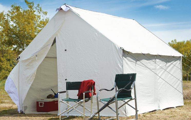 Guide Gear 10 x 12 Canvas Wall Tent.