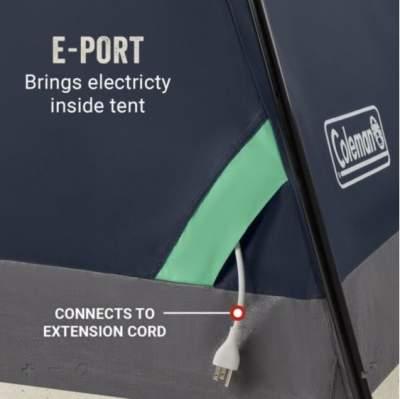 E-cable port.