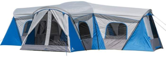 Ozark Trail Hazel Creek 16 Person Family Cabin Tent.