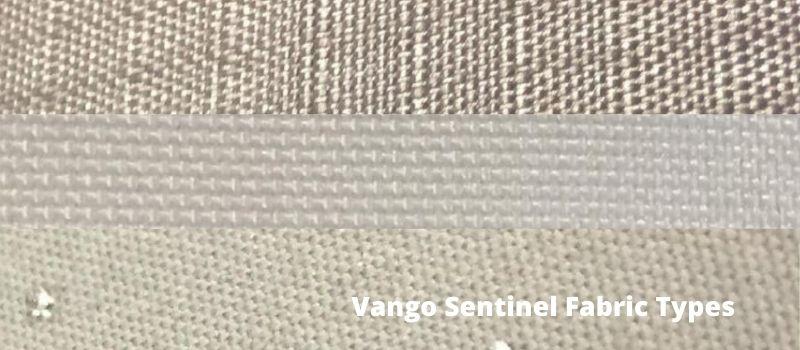 Vango Sentinel Fabric Types.